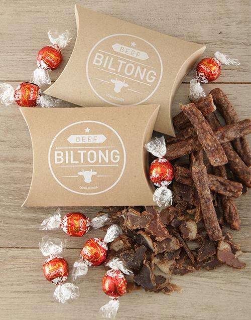 Mother's Day Biltong and Chocs Treat Box