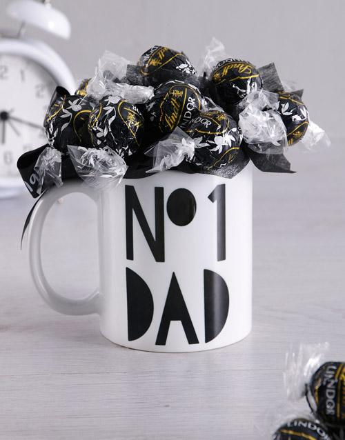 No#1 Dad Mug Arrangement