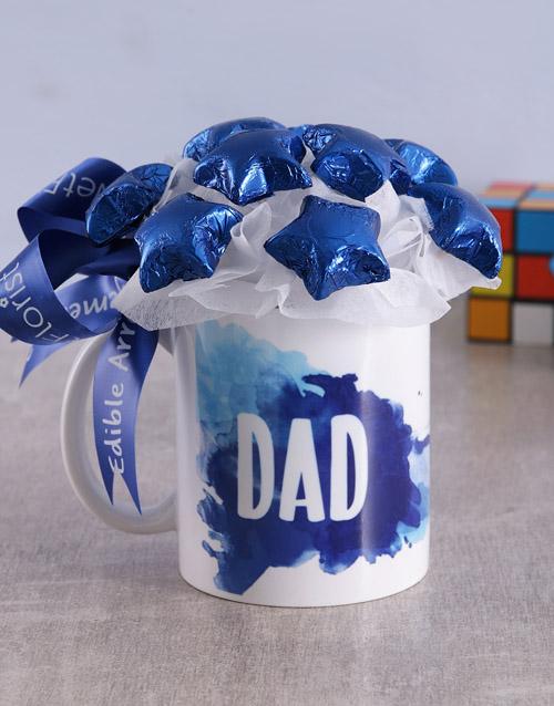 Star Dad Arrangement in Mug