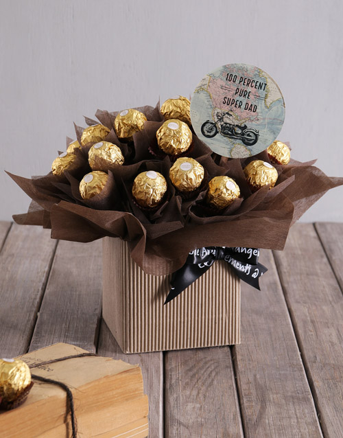Best Dad Ferrero Gift Box
