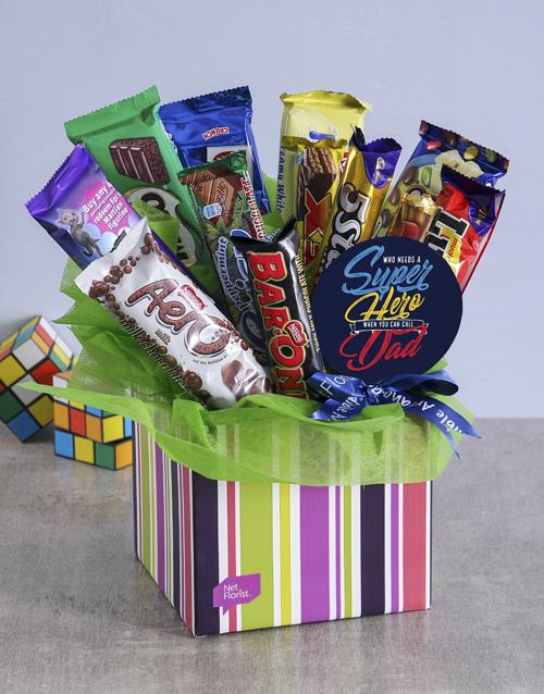 Super Dad Chocolate Gift Box
