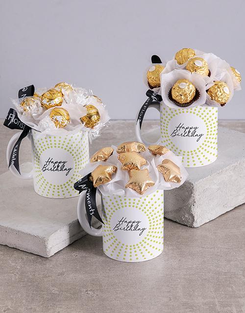 Luxurious Chocolate Birthday Arrangement