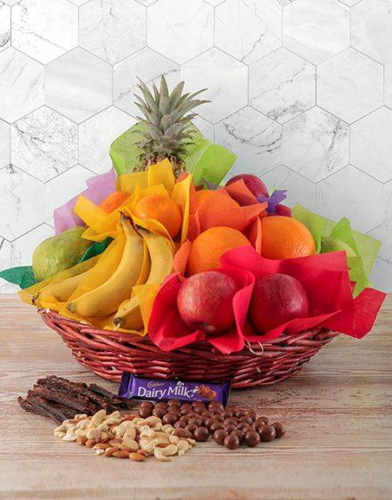 Seasonal Fruit and Treats Basket