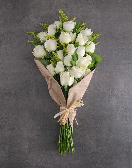 Bouquet Of Stunner White Roses