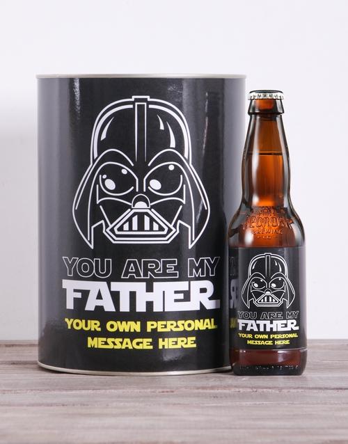 Personalised Vader Craft Beer