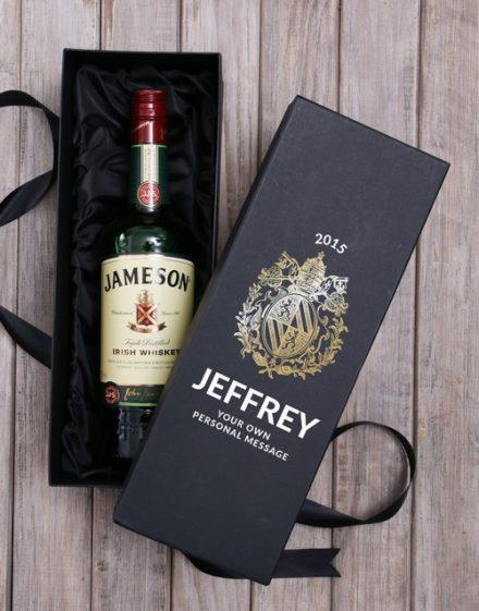 Personalised Jameson Whiskey Box