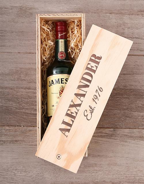 Personalised Jameson Crate