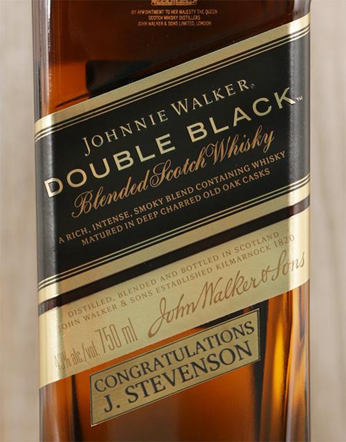 Personalised Johnnie Walker Double Black