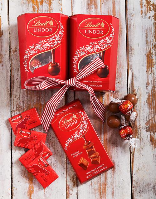 Lindt Chocolate Assorted Gift  Hamper