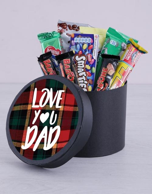 Chocolate Hat Box - Love You Dad