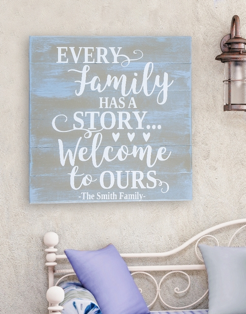 Personalised Our Story Wall Art