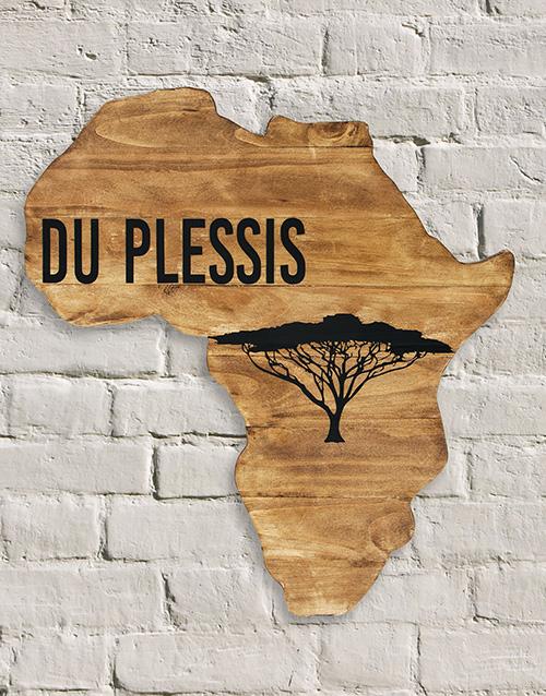 Personalised African Board