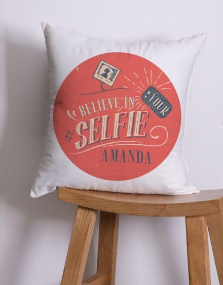 Personalised Selfie Scatter Cushion