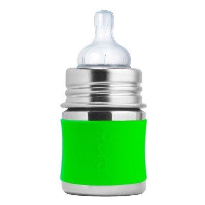 Pura Stainless Steel Green Infant Bottle