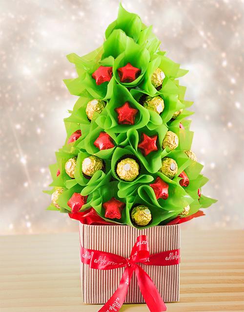 Christmas Mixed Edible Tree