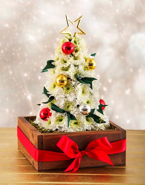 Flower Christmas Tree