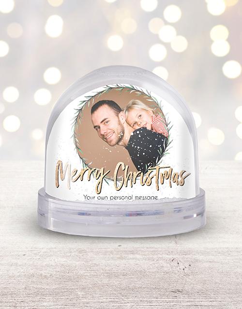 Personalised Photo Snow Globe