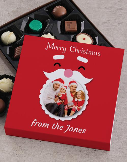 personalised Personalised Santa Family Tray