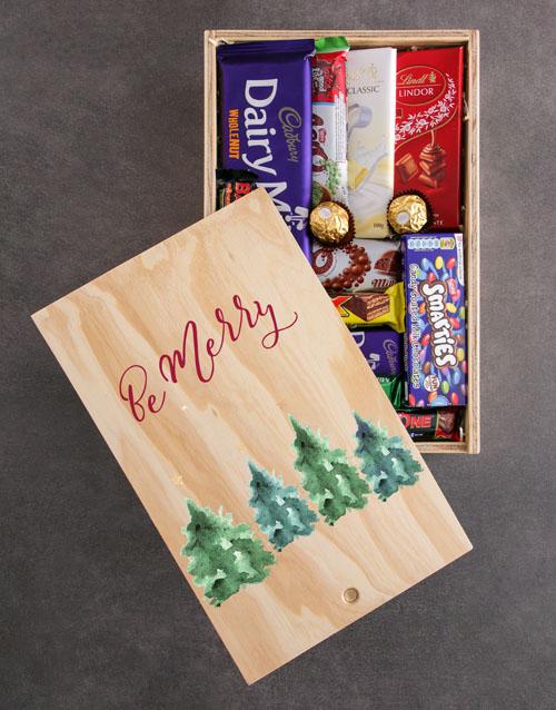 Festive Season Chocolate Crate