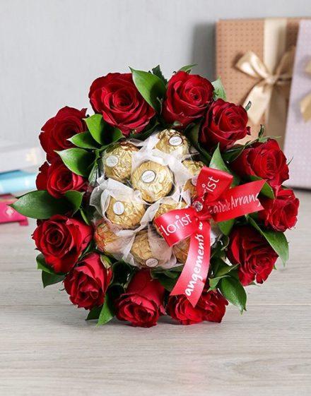 Roses and Ferrero Delight