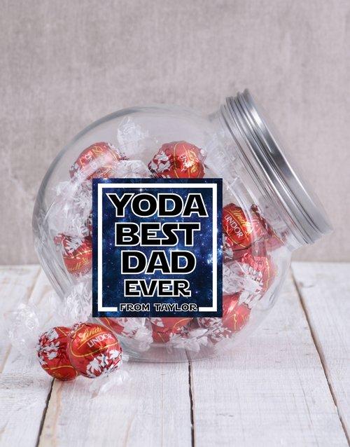 Personalized Yoda Best Candy Jar