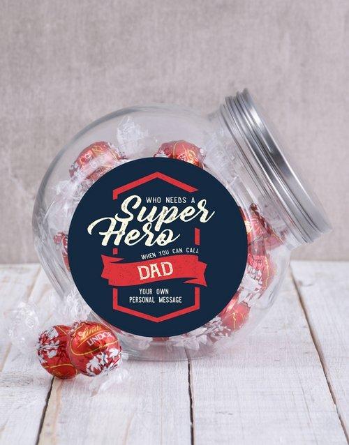 Personalized Superhero Candy Jar