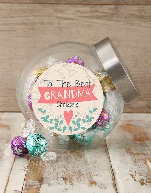 Personalized Best Grandma Candy Jar