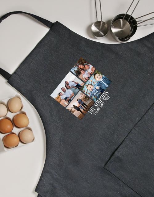 Photo Baking Personalised Apron