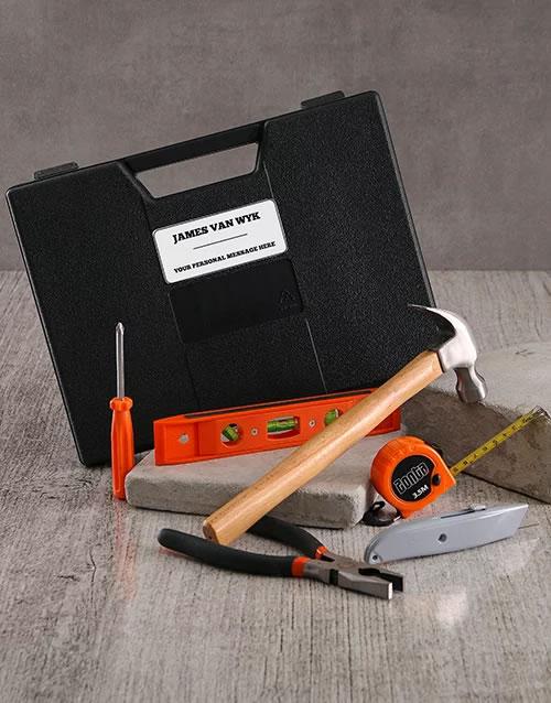 Personalised 6 Piece Tool Set