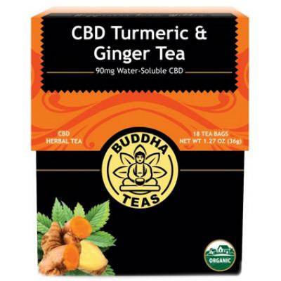 Buddha Teas - CBD Turmeric & Ginger