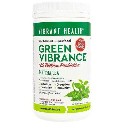 Green Vibrance Matcha, Vanilla