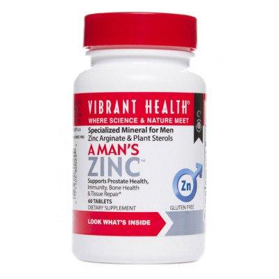 Vibrant Health - A Man's Zinc