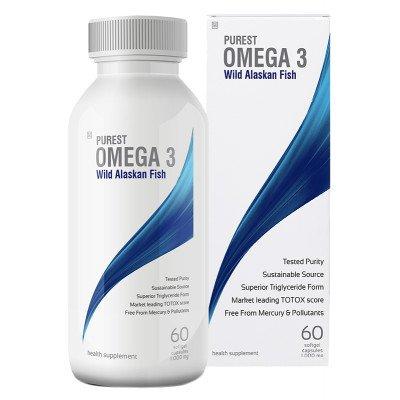 Purest Omega 3 Wild Alaskan Fish Oil