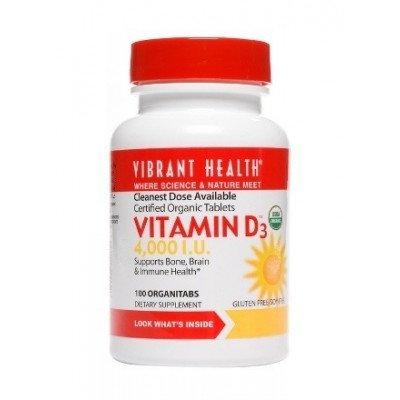 Vibrant Health Vitamin D3 4,000iu
