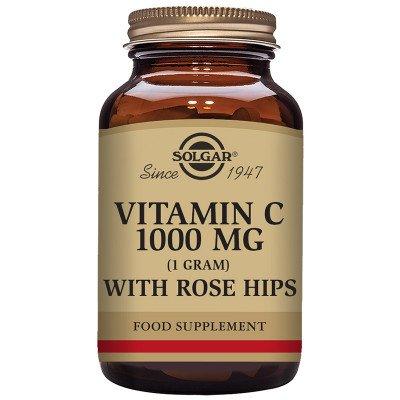 Solgar Vitamin C 1000mg with Rose Hips