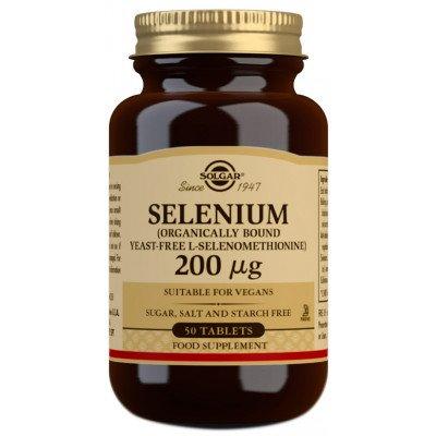 Solgar Selenium (Yeast-Free) 200µg