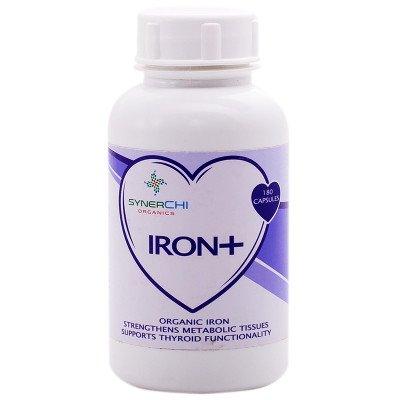 SynerChi Organics Iron Plus Capsules