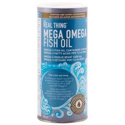 The Real Thing Mega Omega Fish Oil Liquid