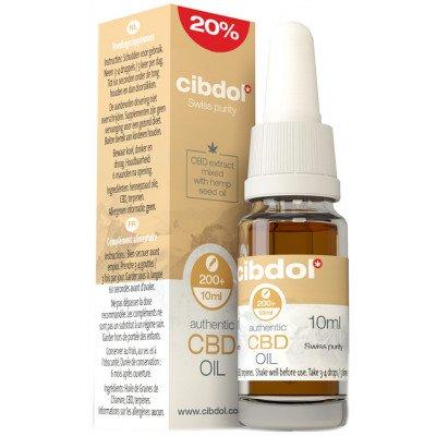 Cibdol CBD Hemp Oil Very Strong 20% (2000mg)