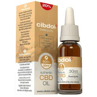 Cibdol CBD Hemp Oil Very Strong 20% (6000mg)