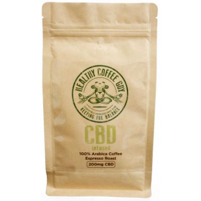Healthy Coffee Guy CBD Infused Espresso Coffee