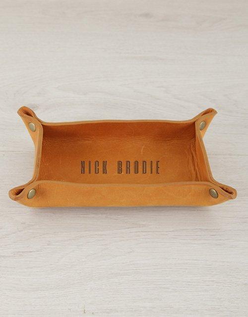 Personalised Leather Organiser