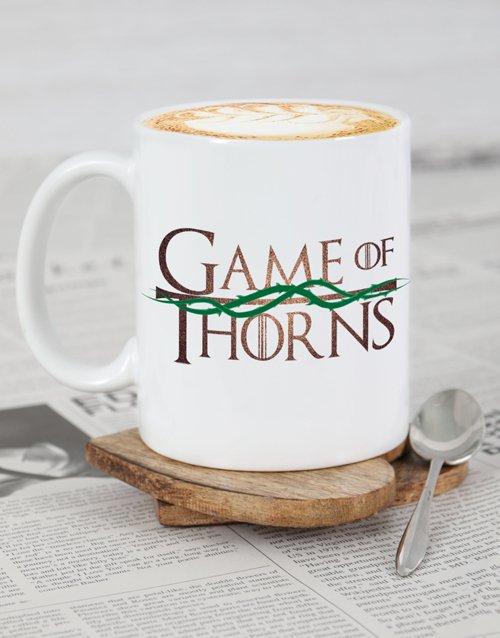 Game Of Thorns Personalised Mug