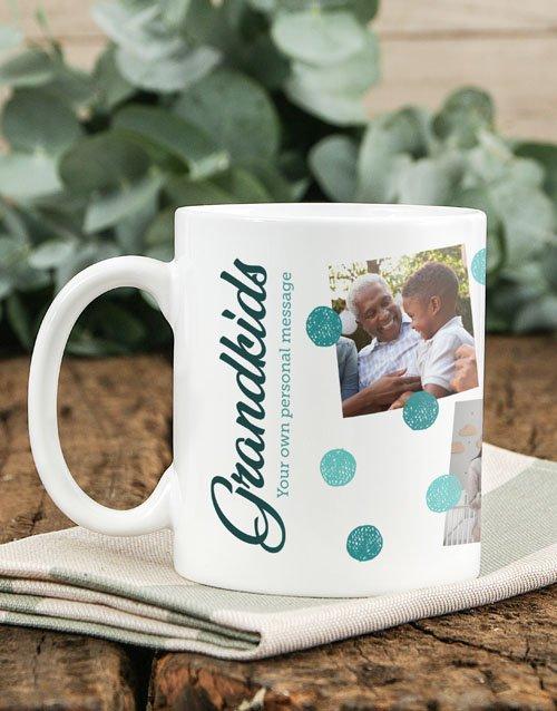 Grandkids Personalised Mug