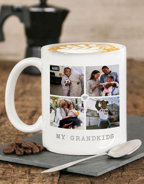 My Grandkids Personalised Mug
