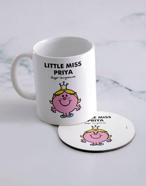 Little Princess Personalised Mug And Coaster