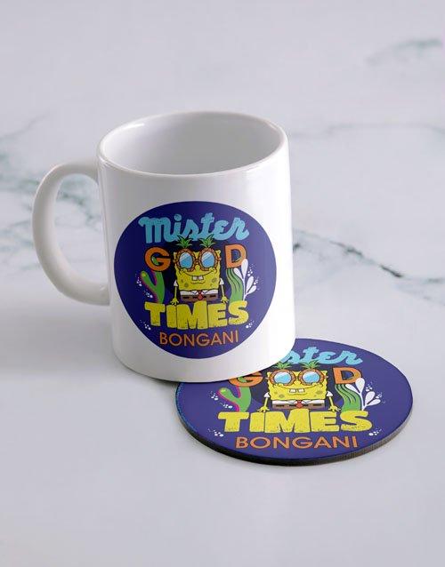 Good Times Personalised Mug And Coaster
