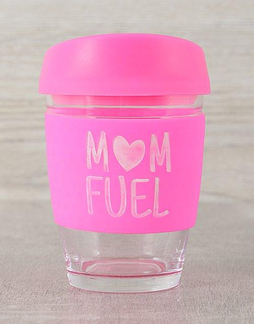 Mom Fuel Travel Personalised Mug