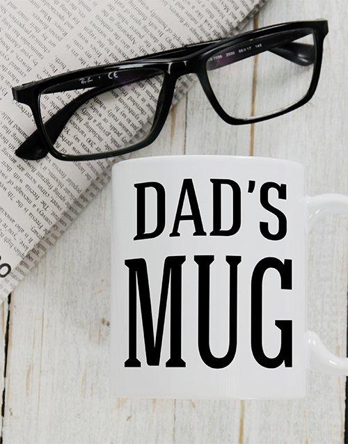 Dads Personalised Mug