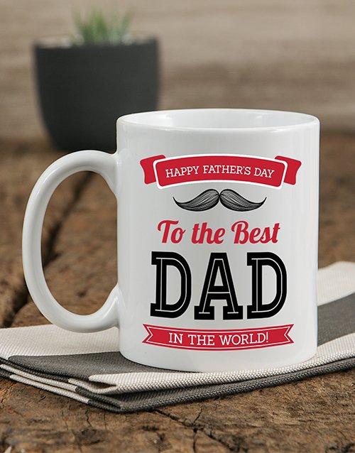 Best Dad Personalised Mug